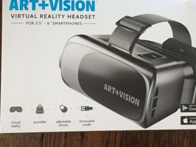Virtual Reality Headset for 3.6-6 Smartphones
