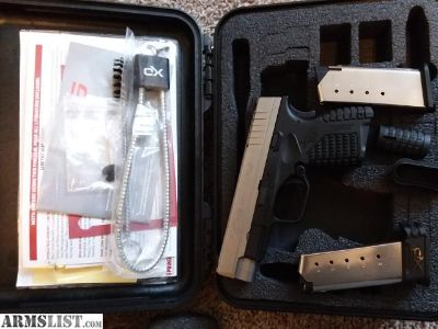 For Sale: Trade/sale Springfield xds 4.0 45 acp