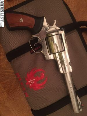 For Sale: Ruger SuperRedhawk 7 1/2, 44 Mag, Stainless Excellent