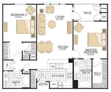 $7680 2 apartment in San Jose