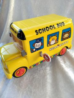 Hello Kitty School Bus. (Opens and closes) 9 long x 5 Tall