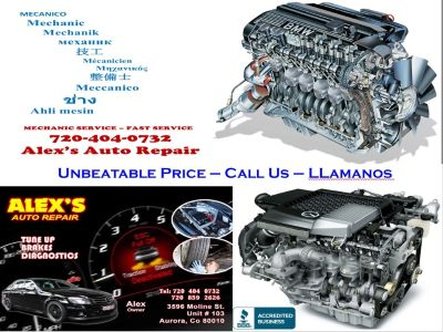 "TUNDIAGNOSTICS""TIMING BELT,WATER PUMP,SHOCK AND MOREE UP - TUNE UP - AFINACION - MECHANIC"