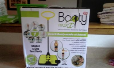 new never opened booty max as seen on tv comes with workout dvd!!!