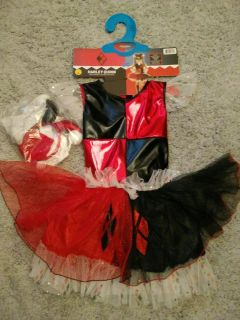 Harley Quinn costume ~size 7-8