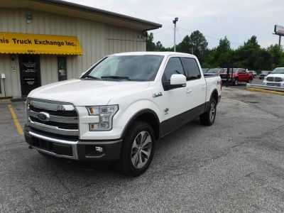 2015 Ford F150 King Ranch (White)