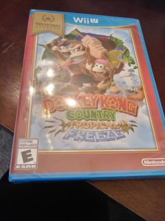 Sealed Never opened: bought duplicate as gift to niece; Donkey Kong Country Tropical Freeze; thurs Jan 25th swap.
