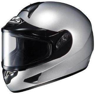 Purchase HJC CL-16 Silver 3XL Dual Lens Snowmobile Full Snow Sled Helmet XXXL XXX-Large motorcycle in Ashton, Illinois, US, for US $139.49