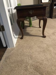 Cherry end tables (2)