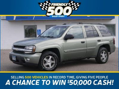 2003 Chevrolet Trailblazer LS (Silver Green Metallic)