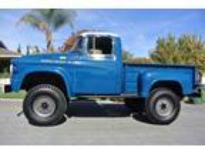 1958 Dodge Power Wagon Automatic 4WD