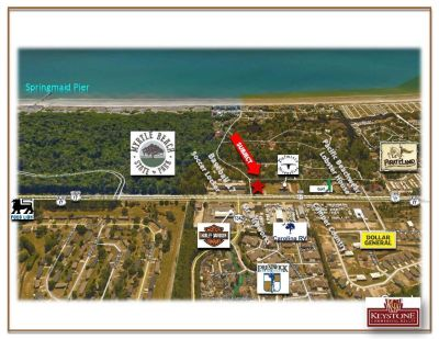Long Bay Tract-1.35 Acres-Land For Lease-Myrtle Beach, SC.
