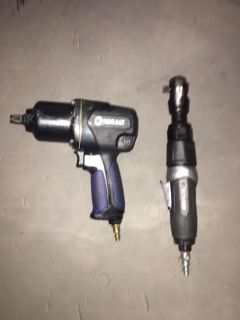 Kobalt Impact Wrench and Air Ratchet