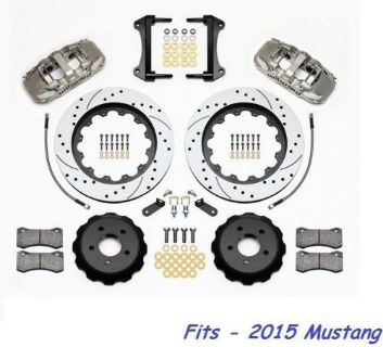 "Purchase Wilwood AERO6 Front Big Brake Kit Fits 2015 Ford Mustang,15"" Drilled Rotors,Line motorcycle in Camarillo, California, United States, for US $2,405.00"