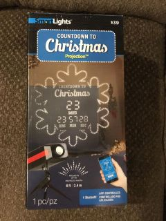 Countdown to Christmas Projection Light
