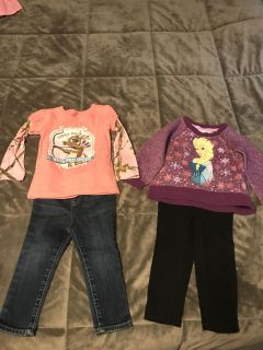 Girls 2t winter clothes lot