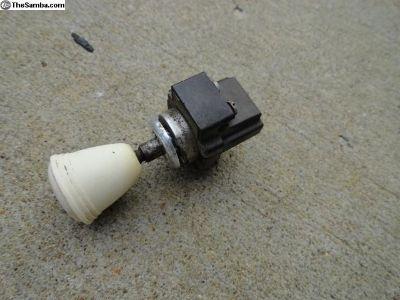 Volkswagen Beetle Windshield Wiper Switch.