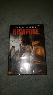 New unopened DVD Rampage