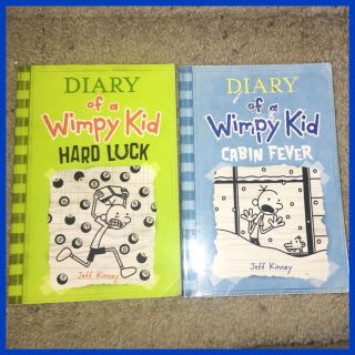 Diary of a Wimpy Kid Paper Back Books