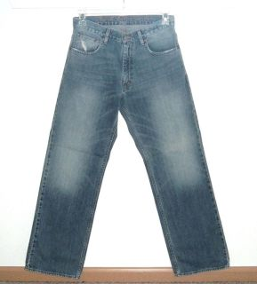 American Eagle Lightly Distressed Loose Fit Jeans Mens Tag 29x32 Measures 30x31