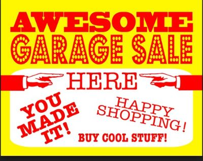 Huge Garage Yard Sale in Mid Cities Hurst Euless Bedford NRH collectables