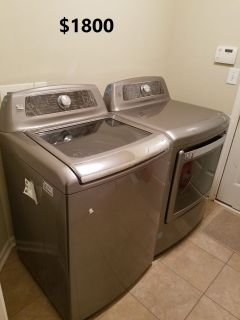 Kenmore Elite Washer Dryer