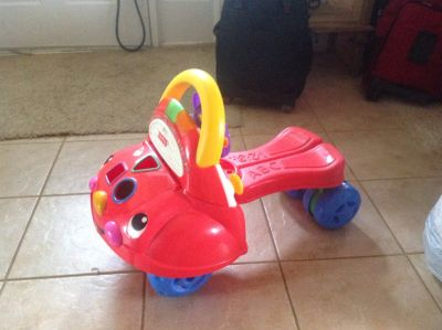 Fisher Price 2-in-1 Walker and Ride On Car