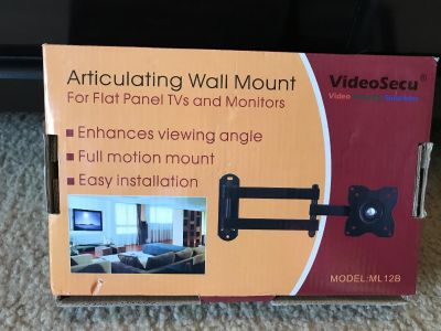 Articulating TV/Monitor Wall Mount