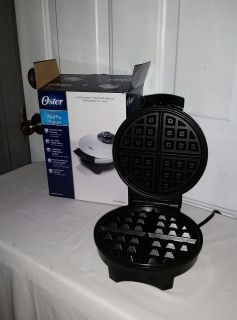 Oster Belgian Waffle Maker. New in box. $12
