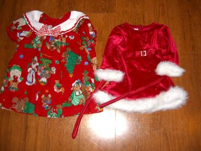 Girls Christmas Outfits 6-12 months
