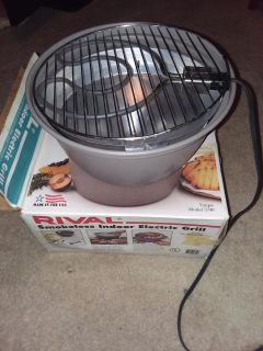 Rival Smokeless Indoor Electric Grill