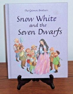 RARE The Grimm Brothers Snow White and the Seven Dwarfs Hard Cover Book