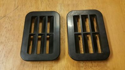 Sell Vintage Kawasaki interceptor snowmobile 550 hood vents small motorcycle in Vassalboro, Maine, United States, for US $22.00