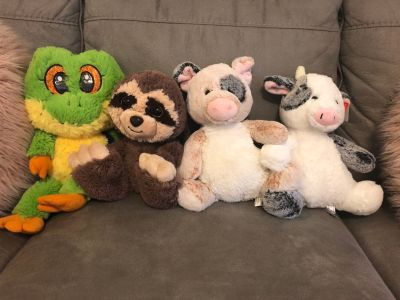 Lot of stuffed animals