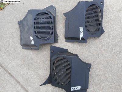 Porsche 914 radio speaker grilles