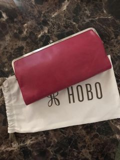 Brand new with tags pink hobo wallet and dust bag