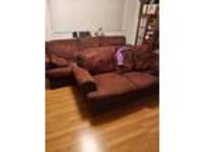 Sofa, Love Seat and Pillows