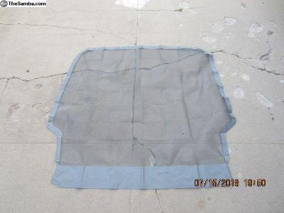 2001-2003 rear hatch mosquito net