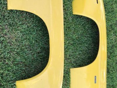 1969 Camaro Fiberglass fenders, valence, header panel, SBC T