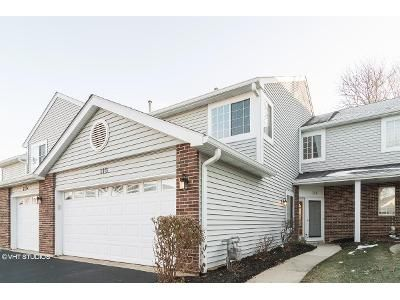 3 Bed 2.5 Bath Foreclosure Property in Streamwood, IL 60107 - Winchester Dr