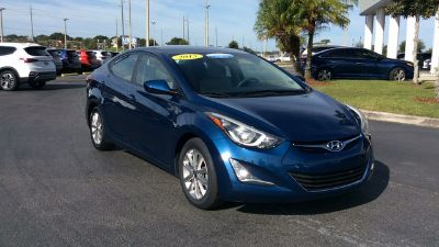2015 Hyundai Elantra GLS (blue)