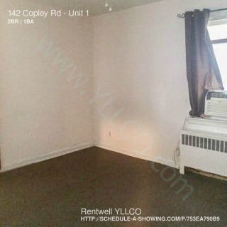 Apartment Rental - 142 Copley Rd