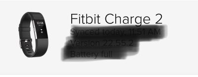 Fitbit charge 2 HR GOOD condition