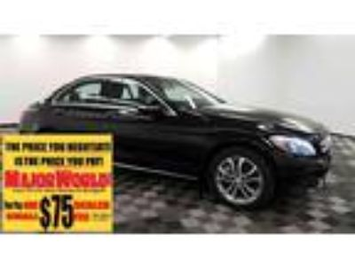 $18888.00 2015 MERCEDES-BENZ C-Class with 50684 miles!