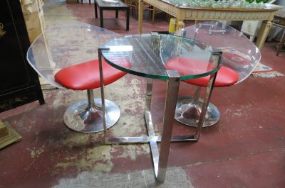 Vintage Mid century 3 pc. Dining/kitchen set