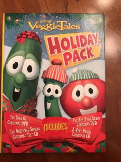 Veggie Tale holiday pack