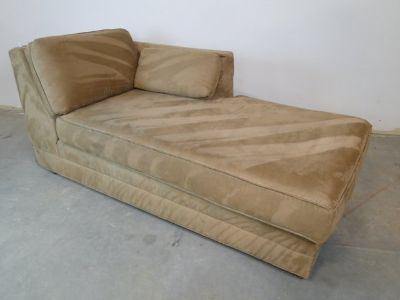 Microfiber Contemporary Chaise Lounge