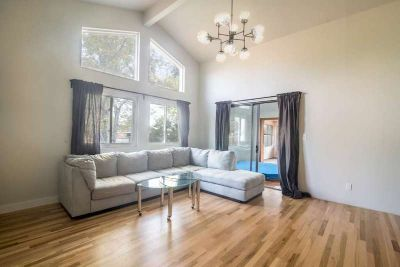 Remodeled, modern house on .3acres, walk to light rail (FURNISHED)