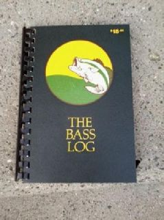 $10 The Bass Fishing Log With Two In-Fisherman Magazines 1990