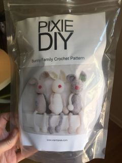 Diy bunny crochet kit