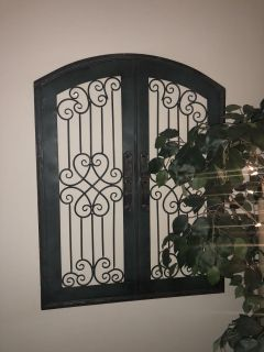 Decorative gate for house